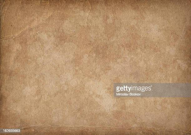 High Resolution Antique Paper Mottled Vignette Grunge Texture