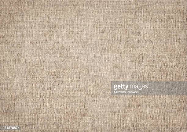 high resolution artist natural linen canvas grunge texture - beige stock pictures, royalty-free photos & images
