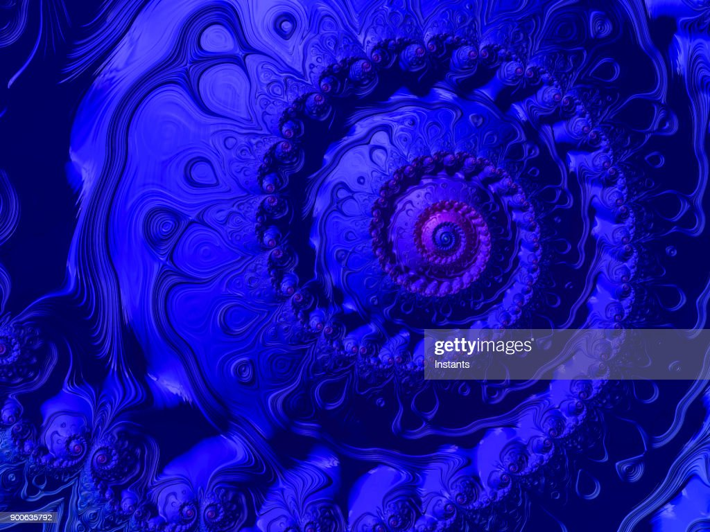 High resolution blue and purple spiral fractal background with a high resolution blue and purple spiral fractal background with a flower shape stock izmirmasajfo