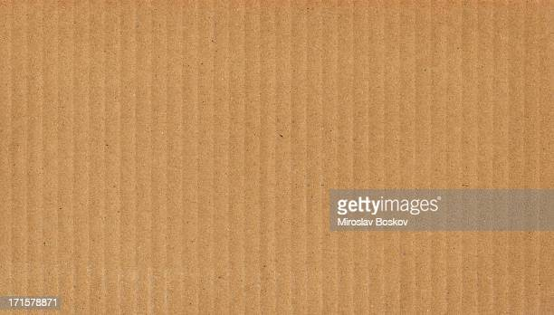 High Resolution Cardboard Brown Corrugated Texture