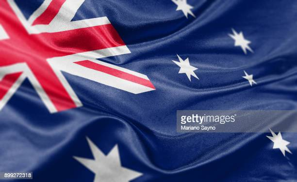 High resolution digital render of Australia flag