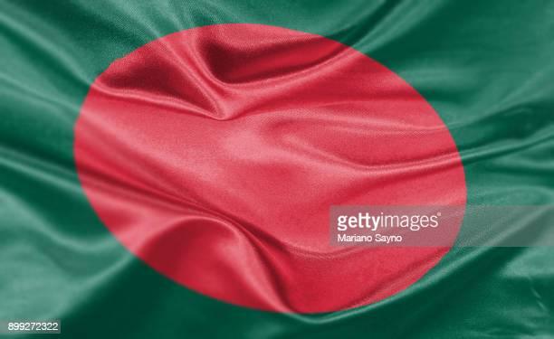 high resolution digital render of bangladesh flag - bangladesh stock pictures, royalty-free photos & images