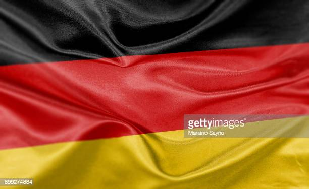 high resolution digital render of germany flag - tyskland bildbanksfoton och bilder