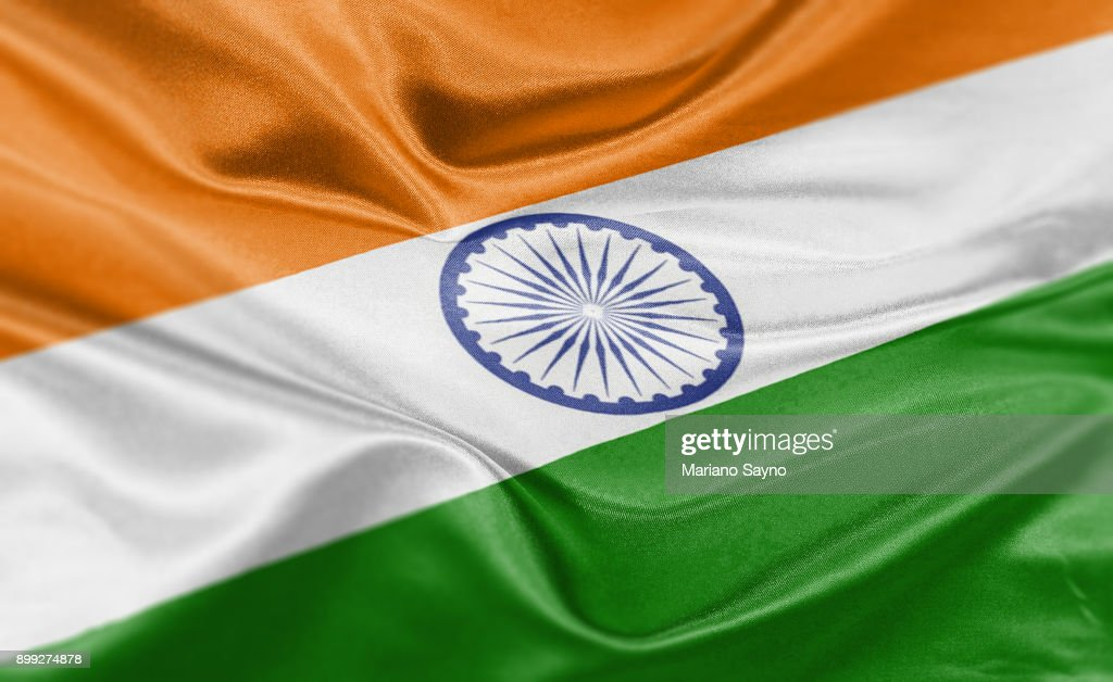High Resolution Digital Render Of India Flag Stock Photo Getty Images