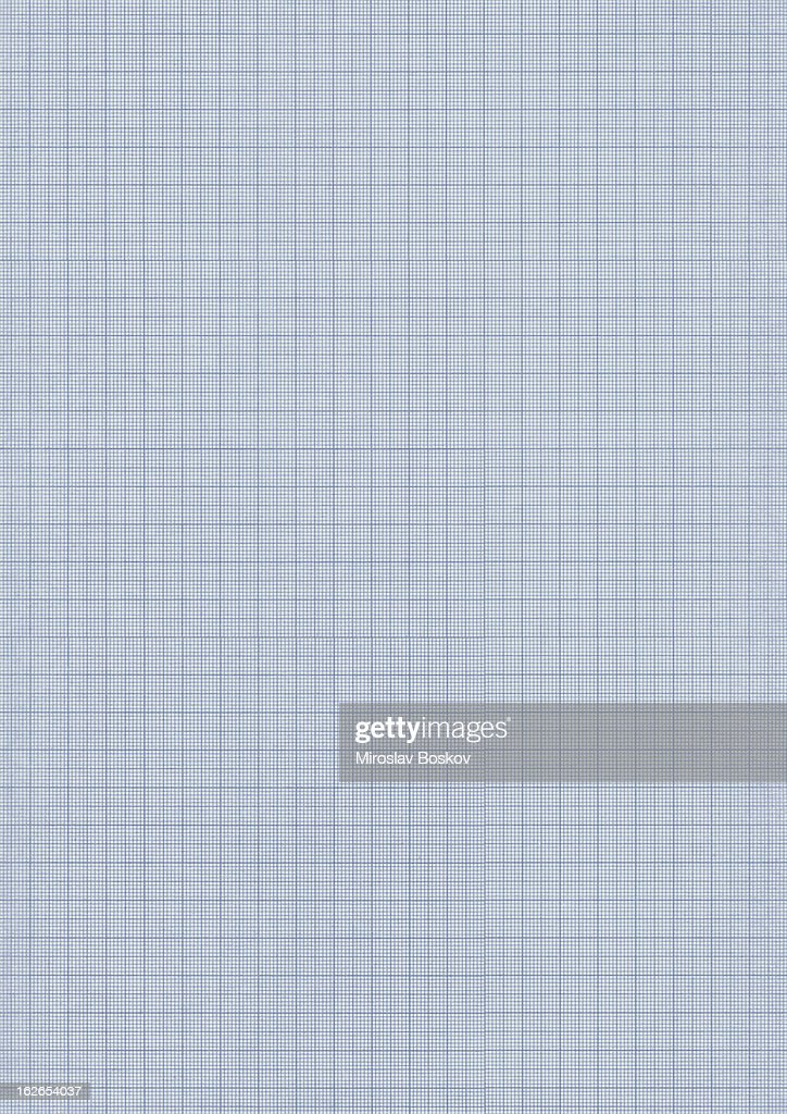 high resolution graph millimeter paper texture sample stock photo