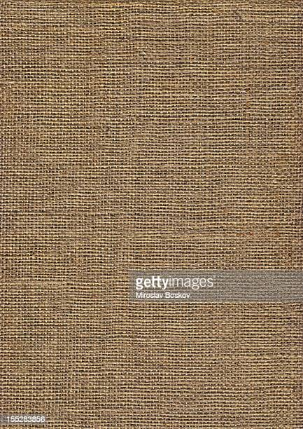 High Resolution Jute Canvas Coarse Grain Grunge Texture