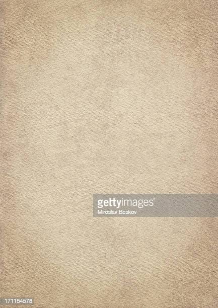 High Resolution Old Beige Card Stock Watercolor Paper Vignetted Texture