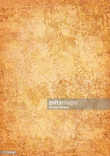 High Resolution Old Parchment (Vellum) Vignetted Grunge Texture