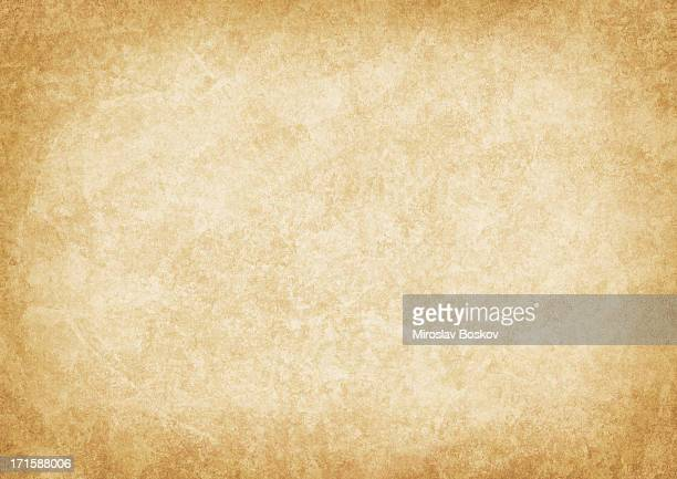 High Resolution Old Parchment Vignetted Grunge Texture
