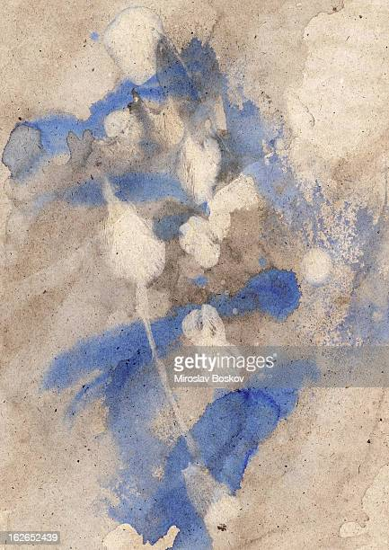 High Resolution Old Recycle Kraft Paper Mottled Crumpled Grunge Texture