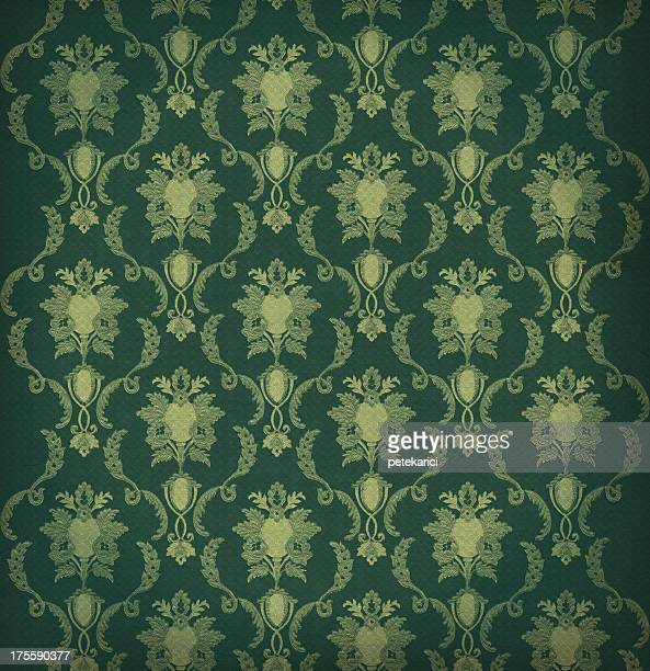 high resolution patterned wallpaper - victorian wallpaper stock pictures, royalty-free photos & images