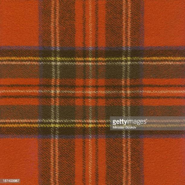 high resolution red tartan fabric pattern sample - tartan stock pictures, royalty-free photos & images