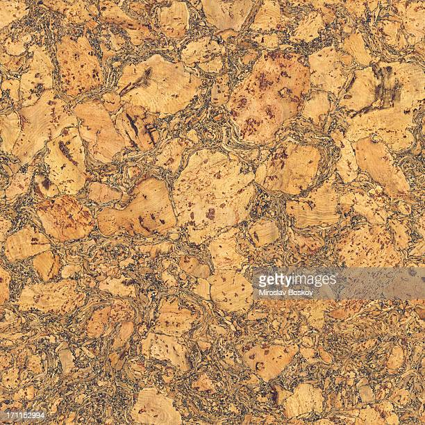 high resolution seamless natural brown cork texture wall pattern tile - cork material stock photos and pictures