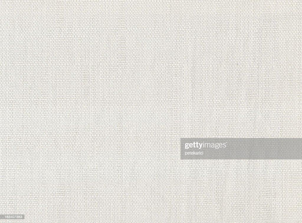 High Resolution White Textile : Stock Photo