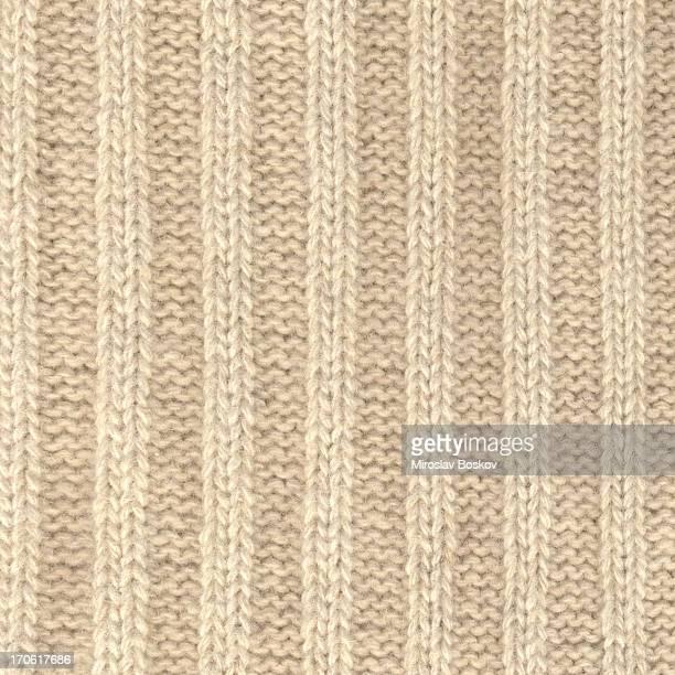 Hohe Auflösung Wolle gestrickte Stoff mit vertikalen Streifen-Muster