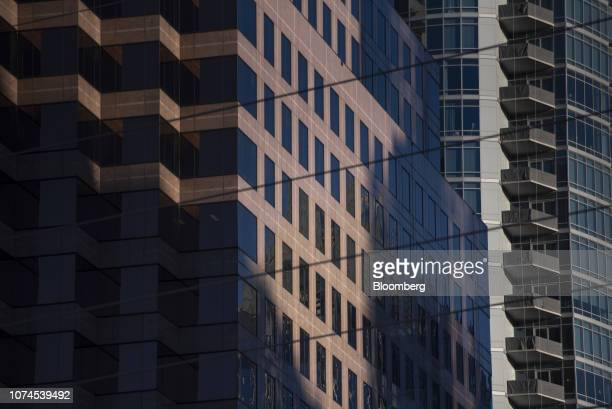 A high rise building stands in downtown Austin Texas US on Thursday Dec 20 2018 Apple Inc announced this month it's opening new offices in Austin...