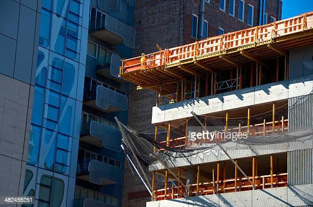 Hohe Aufstieg Gebäude im Bau, Chelsea, New York City, New York City