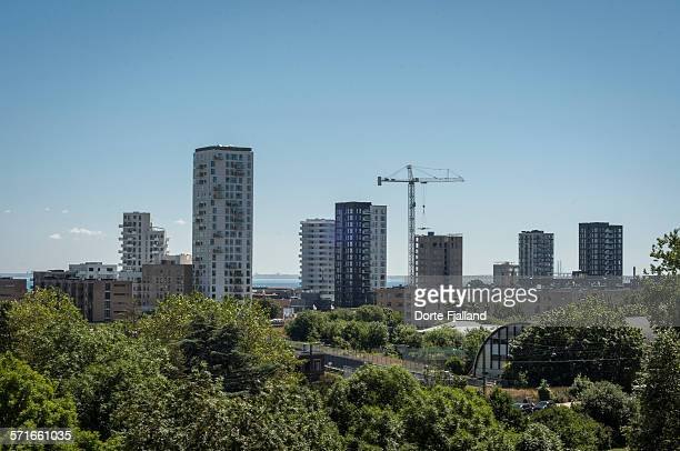 High rise buildings by Oresund