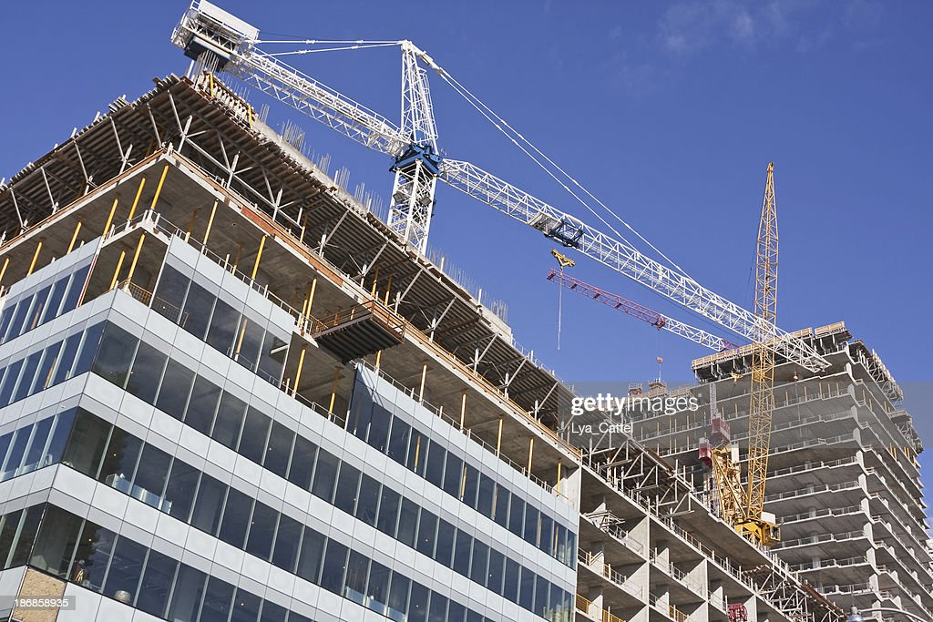 High rise construction site # 16 XL : Stock Photo