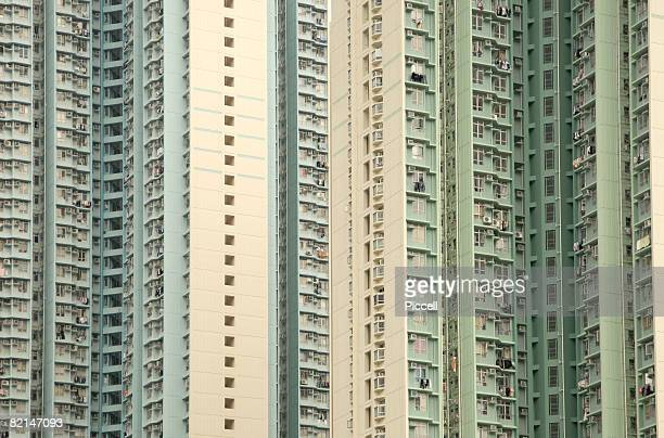High rise large apartment building
