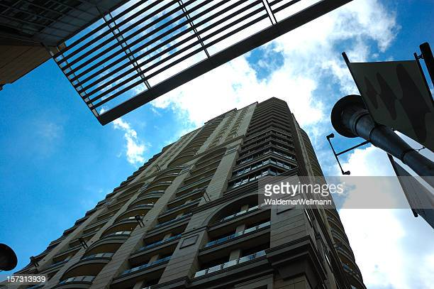 high rise - sandton stock pictures, royalty-free photos & images