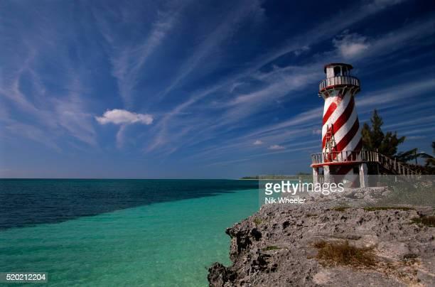 high rock lighthouse - marina wheeler foto e immagini stock