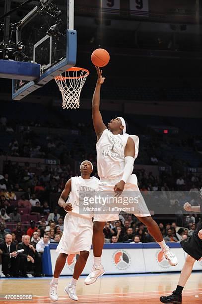 Jordan Brand Classic Fairfax HS Renardo Sidney in action shot during AllAmerican Game at Madison Square Garden New York NY CREDIT Michael J LeBrecht...
