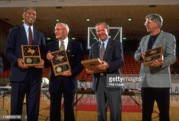 Legends Tournament Portrait of winningest active coaches Dunbar High coach Robert Hughes Clear Lake High coach Bill Krueger DeMatha Catholic High...