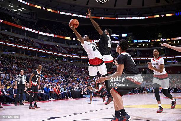 McDonald's All American Game Team West Alterique Gilbert in action vs Team East at United Center Chicago IL CREDIT Al Tielemans