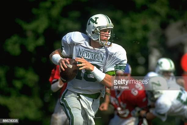 Isidore Newman School QB Peyton Manning in action vs Metairie Park Country Day School New Orleans LA 9/15/1993 CREDIT Bill Frakes