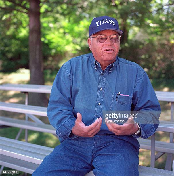 Portrait of former TC Williams High football coach Herman Boone during photo shoot The 1971 TC Williams High football team was the subject of the...