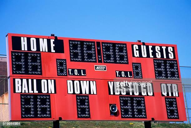 High School Football Score Board