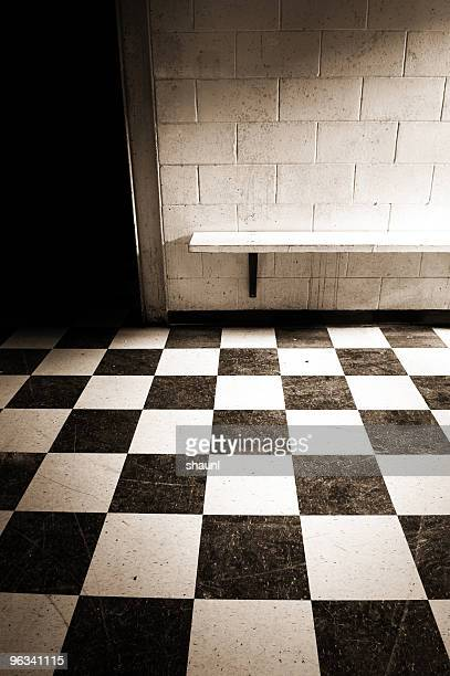 high school hallways - checked pattern stock pictures, royalty-free photos & images