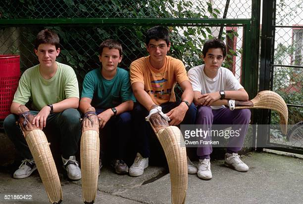High School Jai Alai Players