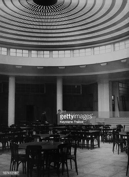High School Jules Ferry In Paris On October 1934