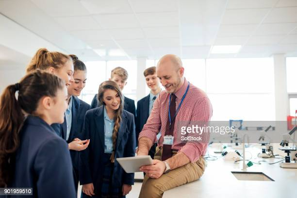 high school lesson - classroom stock photos and pictures