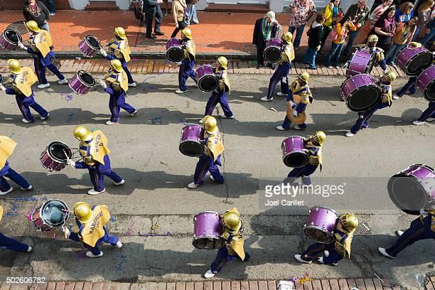 High school Banda filarmónica em Nova Orleães