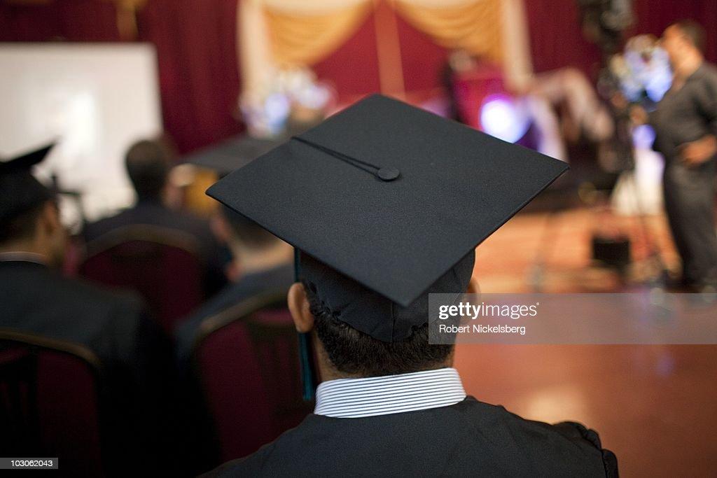 High School Graduation For Muslim-Americans in Bay Ridge, Brooklyn, New York : News Photo