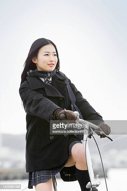 High School Student Cycling