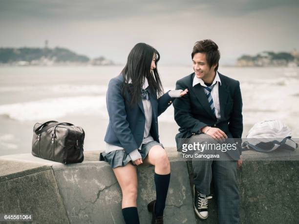 high school student - female high school student stock pictures, royalty-free photos & images