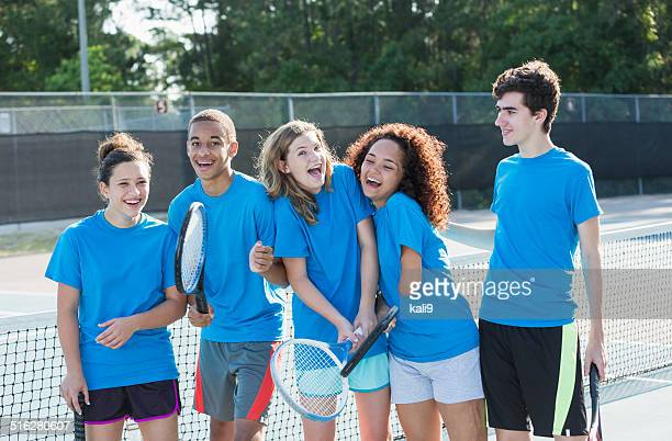 High school tennis team