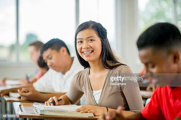 High Schoolers in Class