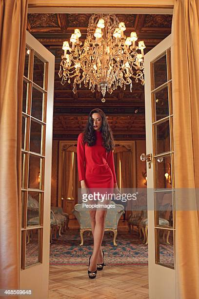 high society beauty - woman open legs stock photos and pictures