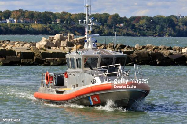 High Speed Coast Guard Patrol Boat, Cleveland, Ohio, USA
