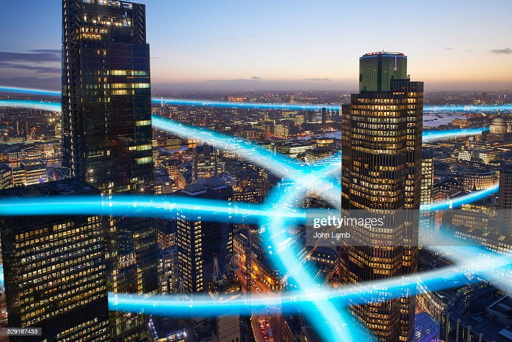 High speed connection : Stock Photo