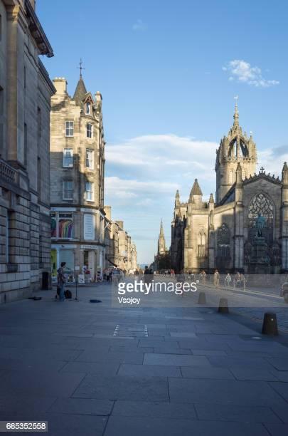 High Street at the Royal Mile, Edinburgh
