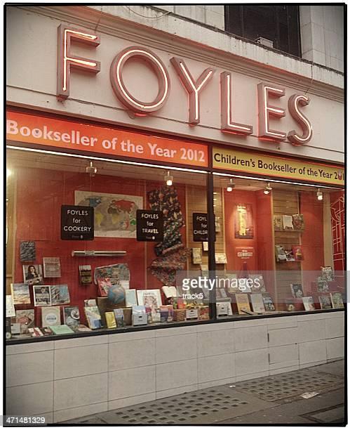Foyles Livraria, Londres.