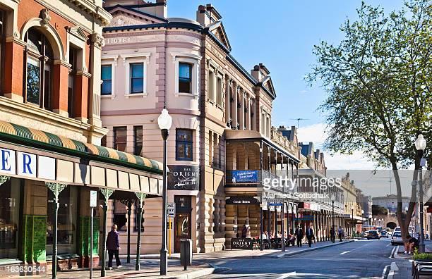 high street heritage buildings - フリーマントル ストックフォトと画像