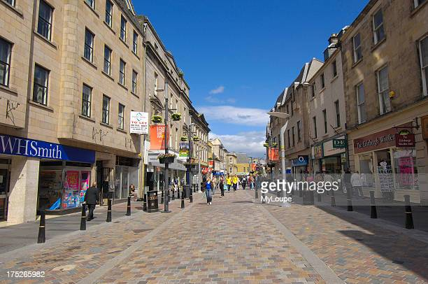 High Street Inverness Highland Region Scotland UK