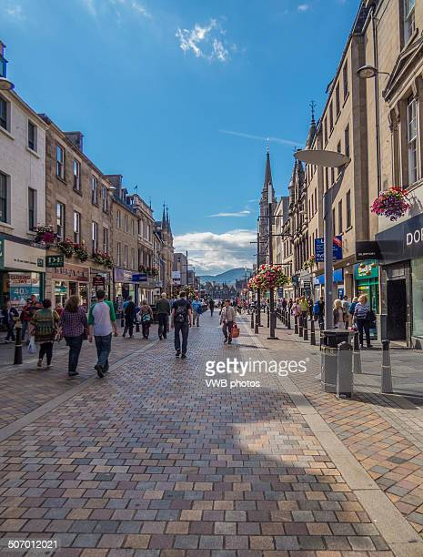 High Street, Inverness, Scotland